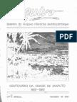 Boletim Do Arquivo Histórico de Moçambique Nº2 - Outubro de 1987