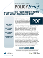 Defining Fossil-Fuel Subsidies for the G-20- Which Approach is Best