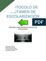 Protocolo Del Dictamen de Escolarización