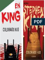 Colorado Kid Tapa y Contratapa