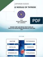 multiple nodul tiroid
