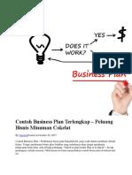 Contoh Business Plan Terlengkap