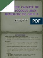Curs 5-Streptococul Beta Hemolitic de Grup A