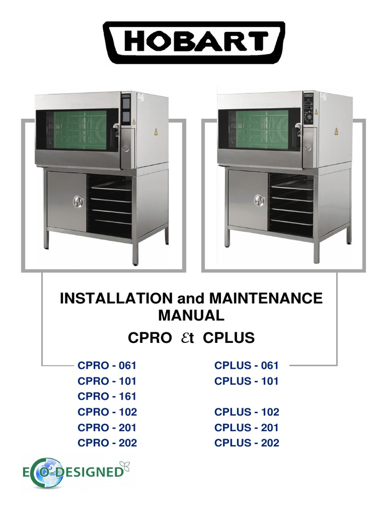 hobart-cpro-cplus-installation-and-maintenance-manual.pdf | Mains  Electricity | Home Appliance