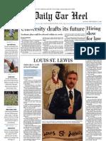 The Daily Tar Heel for September 13,  2010