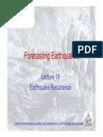 Earthquake Recurrence