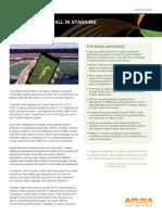 Aruba Solution Brief - Connected Stadium