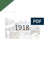 Acontecimientos en 1918