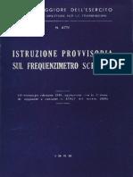 Istruzione provvisoria sul frequenzimetro SCR-211 (4776) 1958.pdf