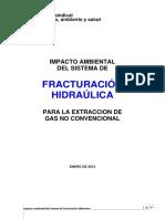 Informe Fracking