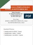 Laporan Jaga Perinatologi, 30 September 2015