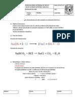 Valoracion de Nahco3 Bicarbonato de sodio