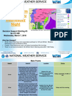 Weather Briefing March 7 At 6 AM