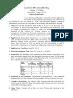 EMBA Application Notice