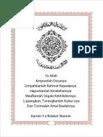 format buku yasin
