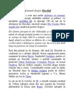informatii despre decebal.docx