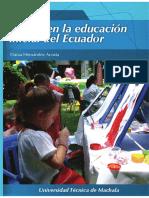 El Arte en La Educacion Inicial de Ecuador (D.R.A)
