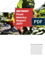 Detroit Food Metrics Report
