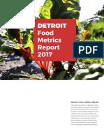 Detroit Food Metrics Report