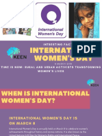 Facts about International Women's Day | KEEN LMS