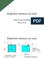07. Depósitos Térmicos en Serie