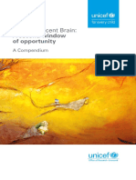 Unicef Adolescent Brain a Second Window of Opportunity a Compendium