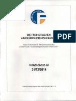 Die Freiheitlichen - Bericht Jahresbilanz 2014