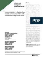 1. a Mortalidade Materna Nas Capitais Brasileiras