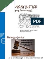 Barangay Justice