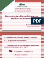 Aula 7 Determinação Físico Químicas Gerais Em Alimentos (1)