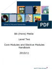 Media Level 2 Module Booklet 1011a
