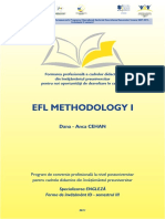 Engleza - 3 - EFL Methodology I Opti