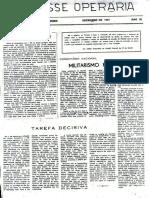 A Classe Operária 1967 Dez