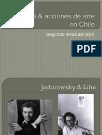 Poesía & Acciones de Arte en Chile