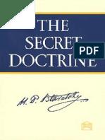 The Secret Doctrine Vol 1 HP Blavatsky