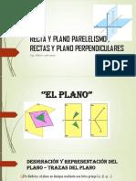 Recta y Plano Parelelismo