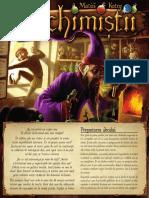 Alchemistii boardgame - reguli romana