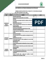 URP 2018 ABPC Dia 3 Lista de Cotejo
