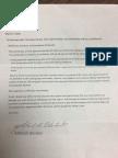 Blanton resignation letter