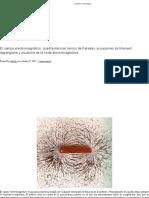El Campo Electromagnético_ Cuadripotencial, Tensor de Faraday, Ecuaciones de Maxwell, Lagrangiana y Ecuación de La Onda Electromagnética