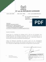 Samenwerkings Overeenkomst Suriname Equatoriaal Guinee