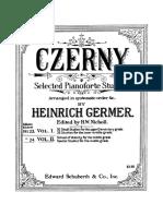 Carl Czerny - Heinrich Guermer Vol. 01