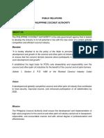 Philipppine Coconut Authority