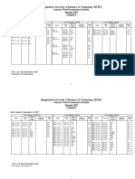 Semester Final Exam Schedule Day Program Cmapus 2