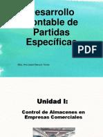 Desarrollo Contable de Partidas Específicas (Desarrollo Contable de Partidas Espec.)