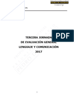 9272-3° JEG Presencial Lenguaje 2017