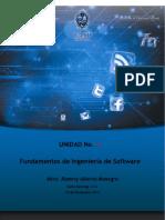 Unidad 1 Fundamentos de Ingenieria de Software