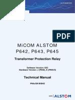Microsoft Word - Micom Alstom Front Cover Docuplate