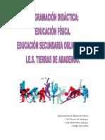 Programacion de Ed Fisica 2015-16.