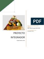 proyecto integrador El plato del bien comer